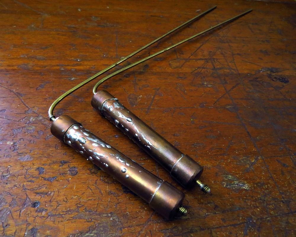 decision making tools ... dowsing rods made by my big brother and a housewarming gift for the new digs