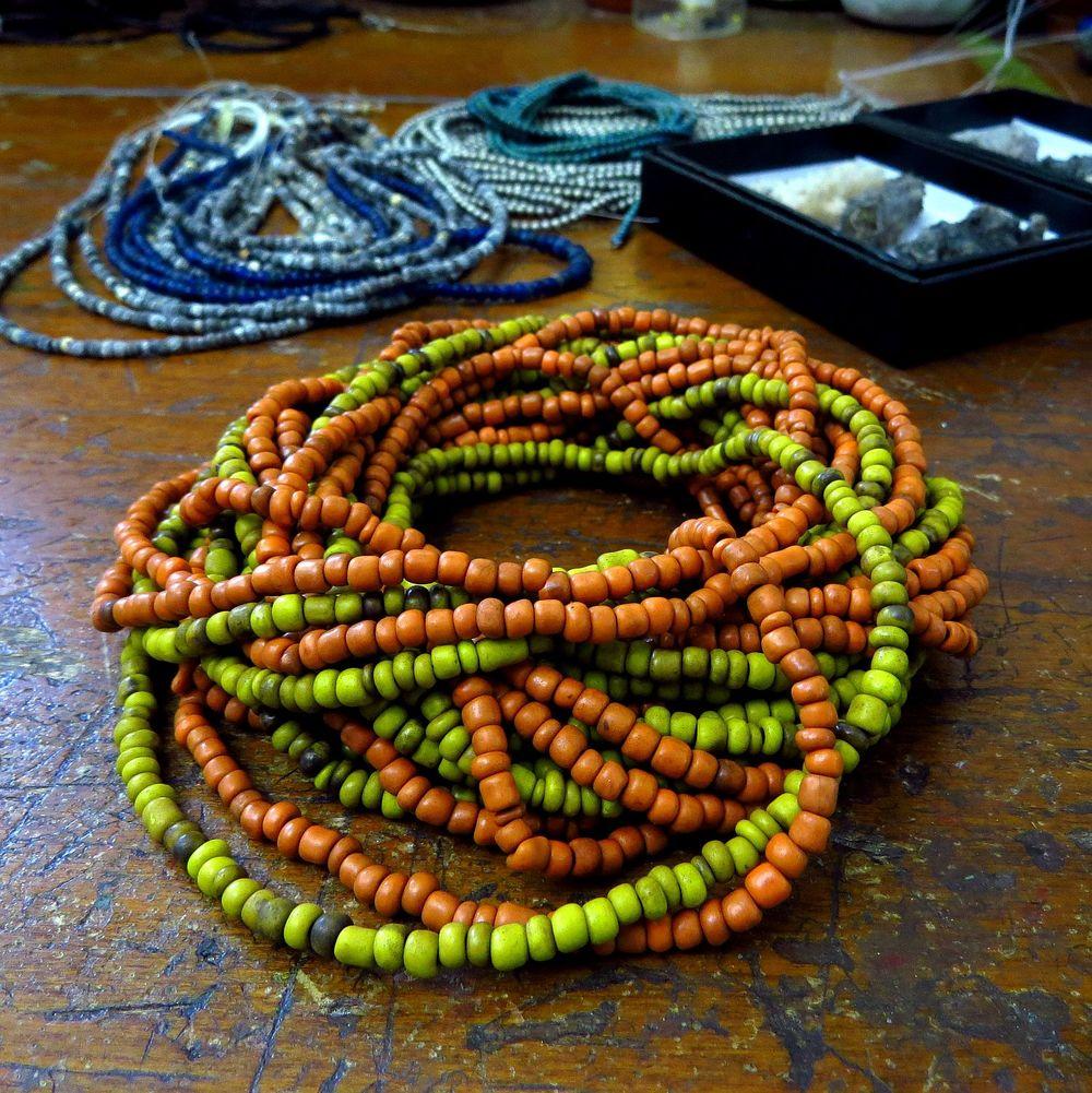 indonesian glass beads kathy van kleeck.JPG