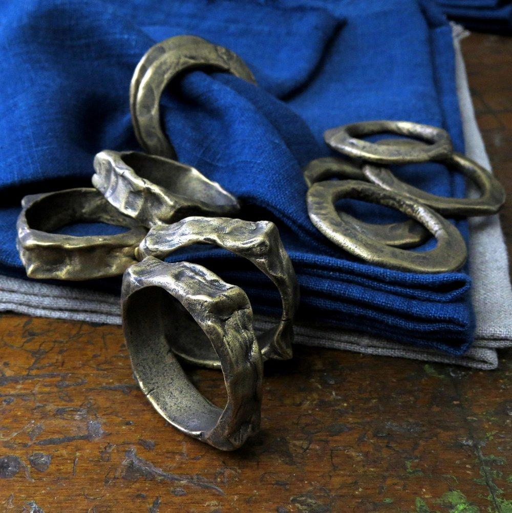 bronze napkin rings kathy van kleeck.JPG