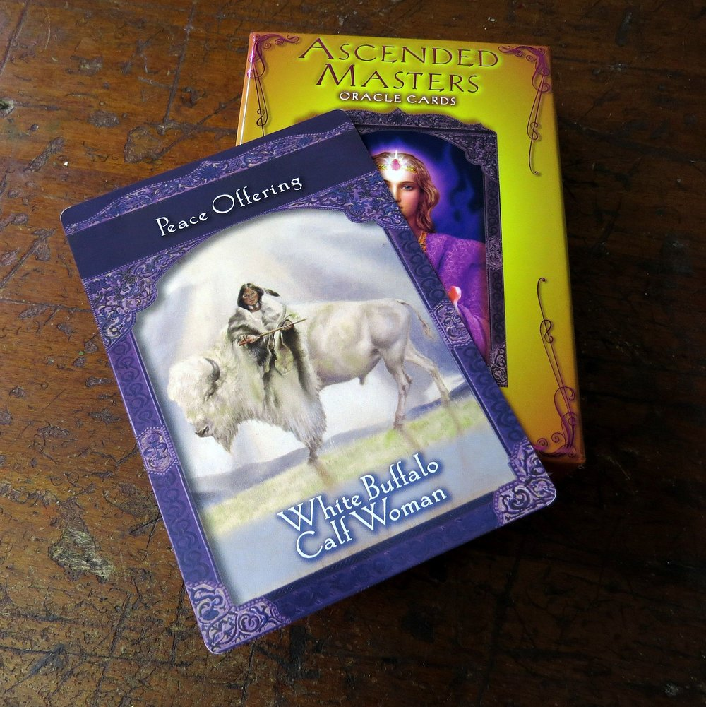 Ascended Masters Oracle Cards, White Buffalo Calf Woman