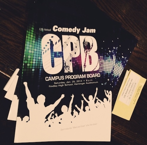 2014 Comedy Jam at University of Findlay