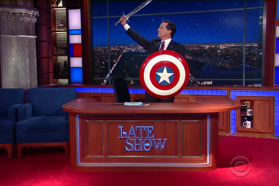 Stephen Colbert as Stephen Colbert.