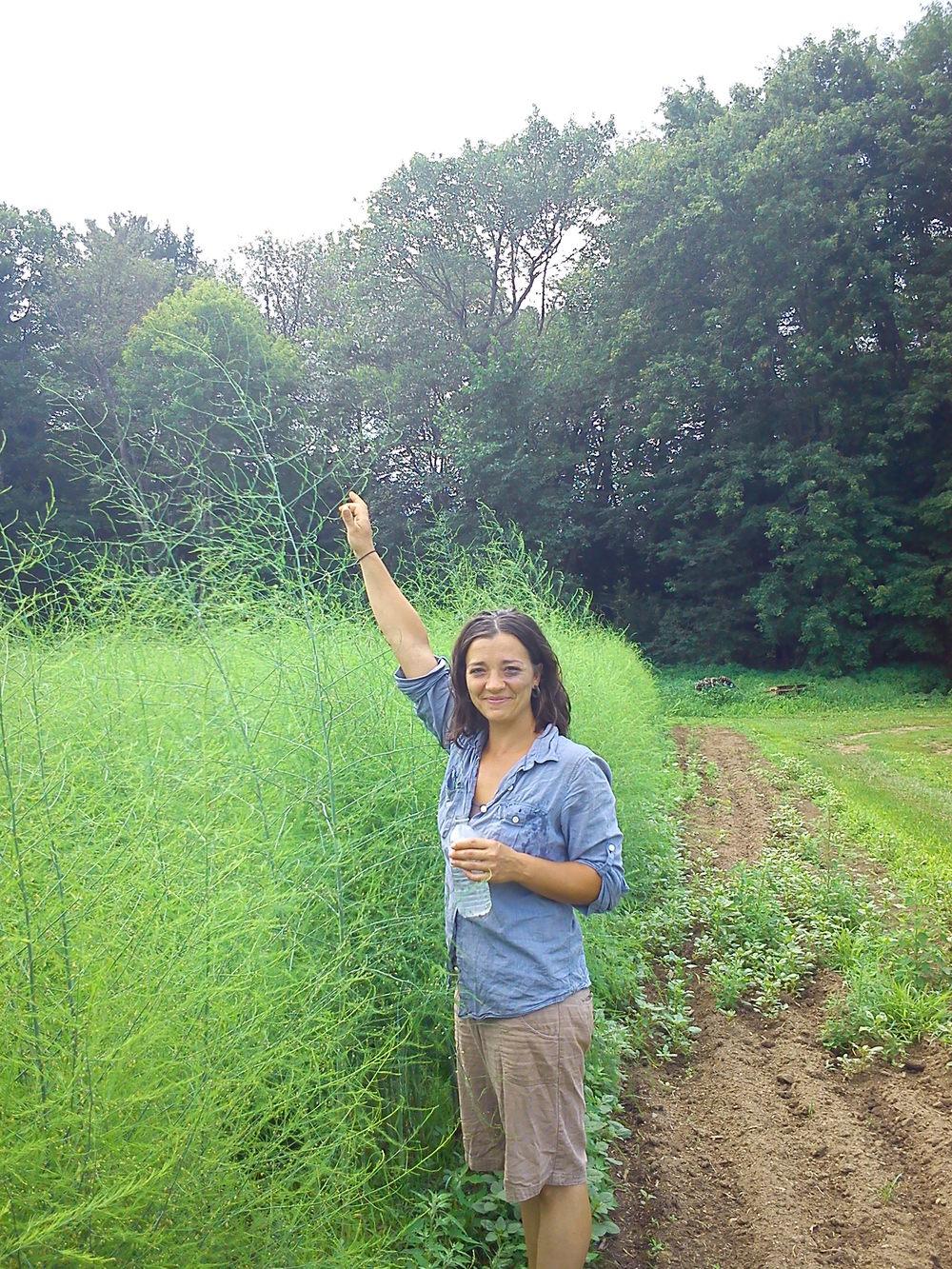 Kyra w big daddy asparagus 2.jpg