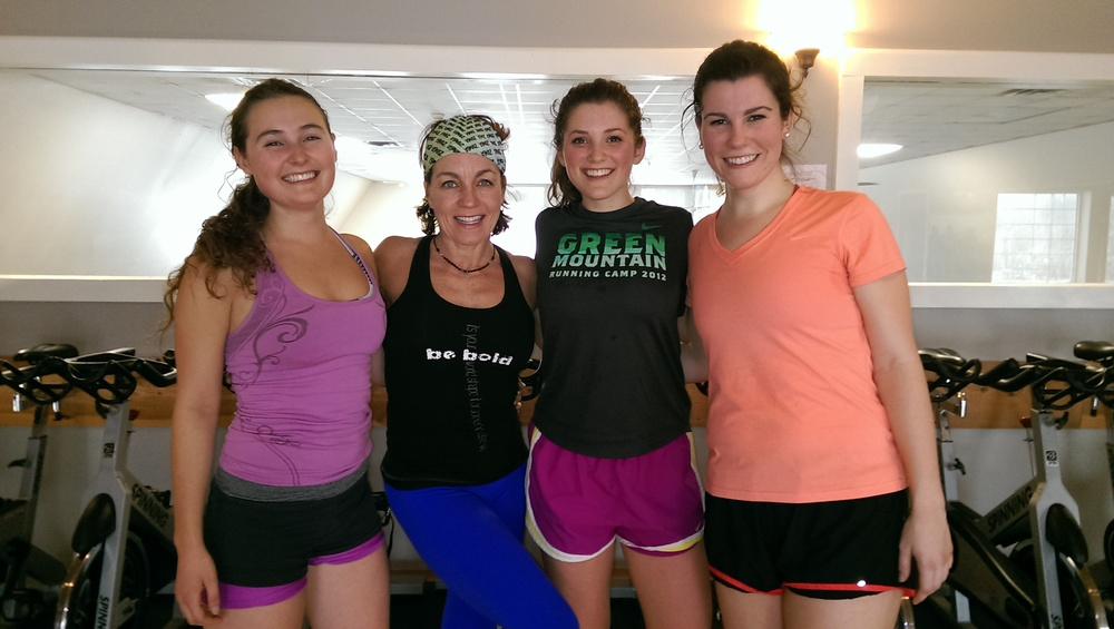 Grace, and Caroline with BFF Liz after Metabolic Madness with fellow Good Girl Laura Collins Downing at Lenox Fitness