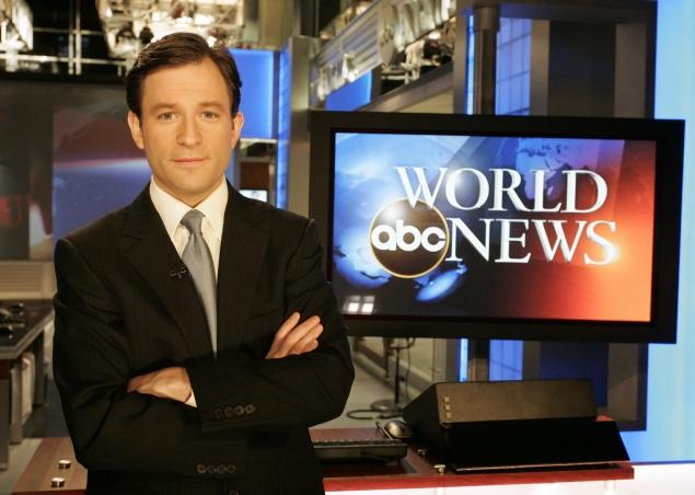 Dan Harris, co-anchor of ABC  Nightline  and the weekend edition of  Good Morning America.