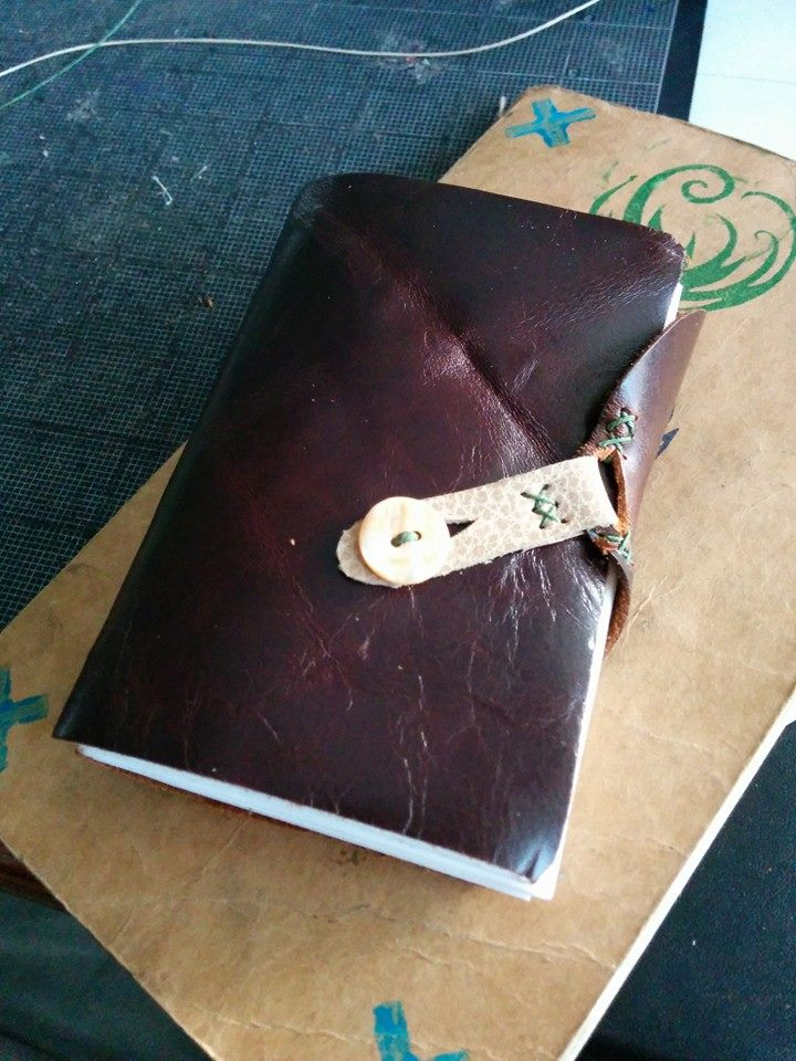 Leather Bound Writing Drawing Paper.jpg
