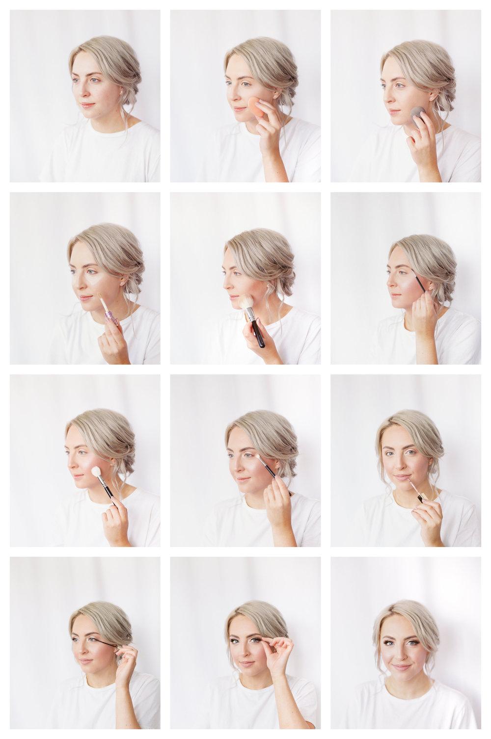DIY rehearsal dinner engagement photos date night wedding makeup tutorial Linda Margarita Hannah Forsberg Atlanta Wedding photographer film