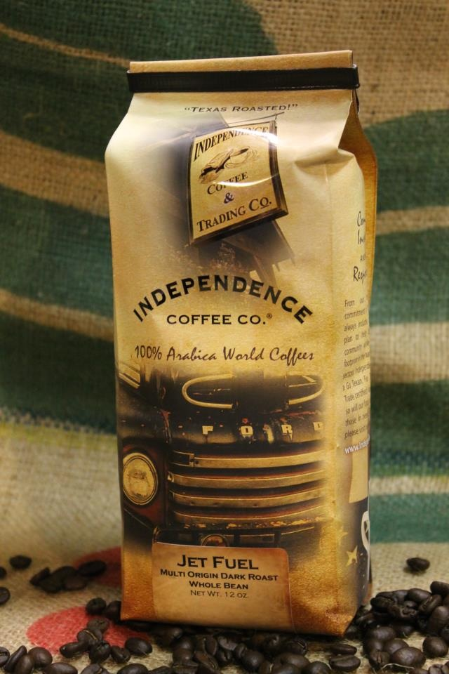 coffee roasted in Independence Texas from 13 producing countries