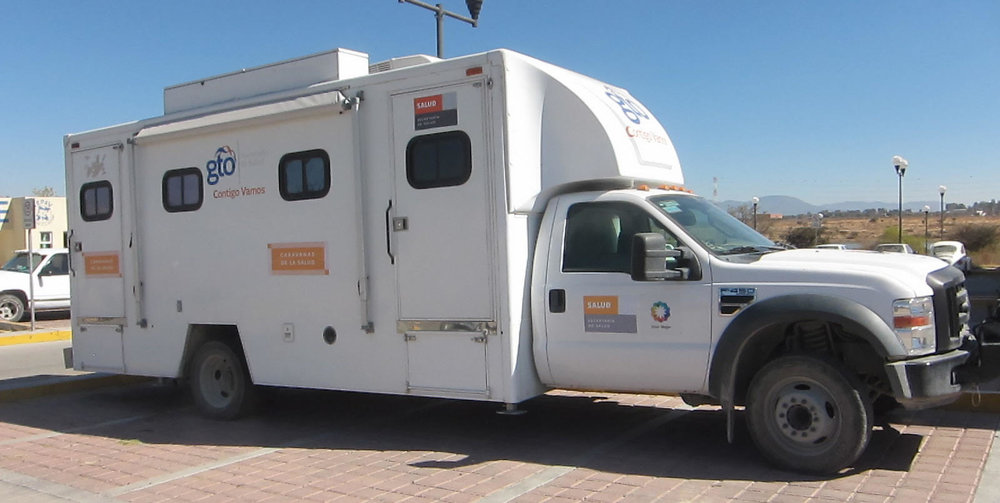 This is a Health Ministry Mobile Clinic ( Brigada)