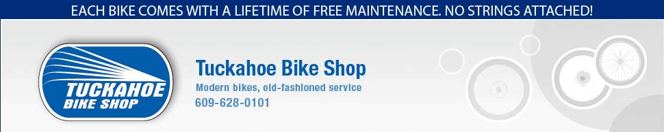 Tuckahoe Bike Shop 2151 Route 50 Tuckahoe, NJ 08270 609.628.0101  http://www.tuckahoebikeshop.com