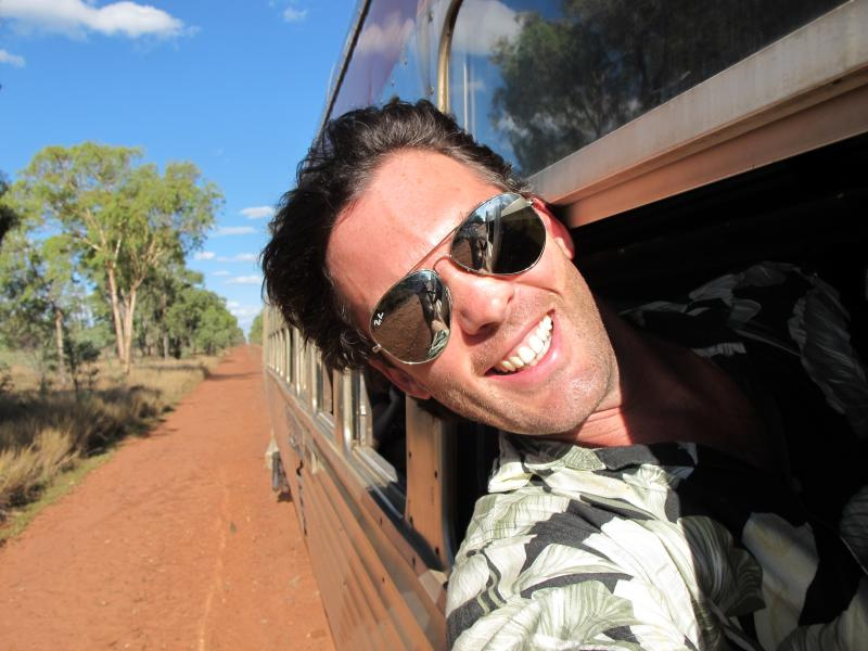 The Journey Is The Destination: Outback Selife, 2010. Picture: simoncrerar.com