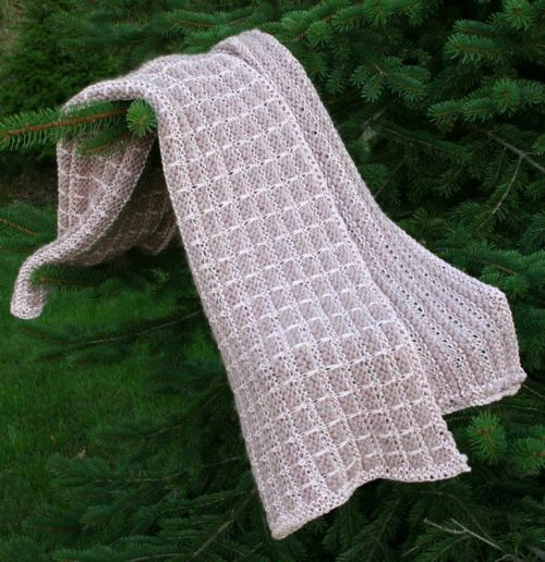 Luxury Baby Blanket - Knitting Pattern — berry meadow
