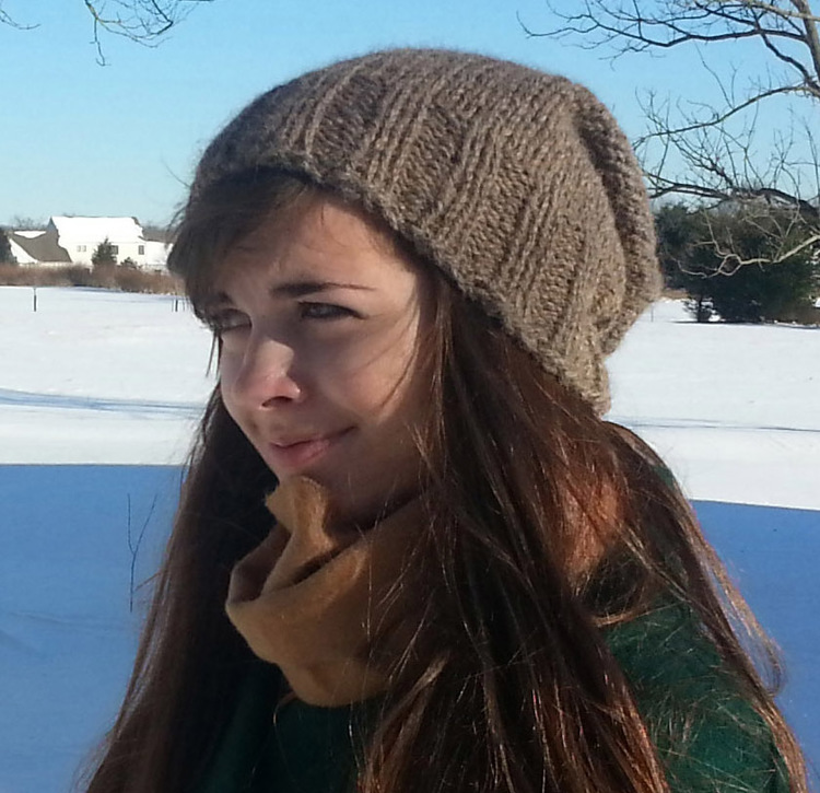 Vermont Slouch Hat Knitting Pattern Berry Meadow