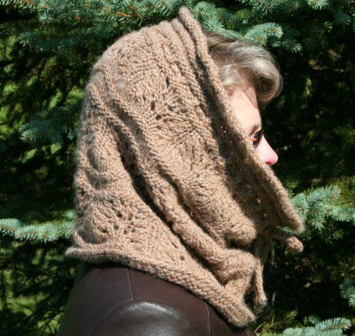 Wavy Cowl Knitting Pattern Berry Meadow