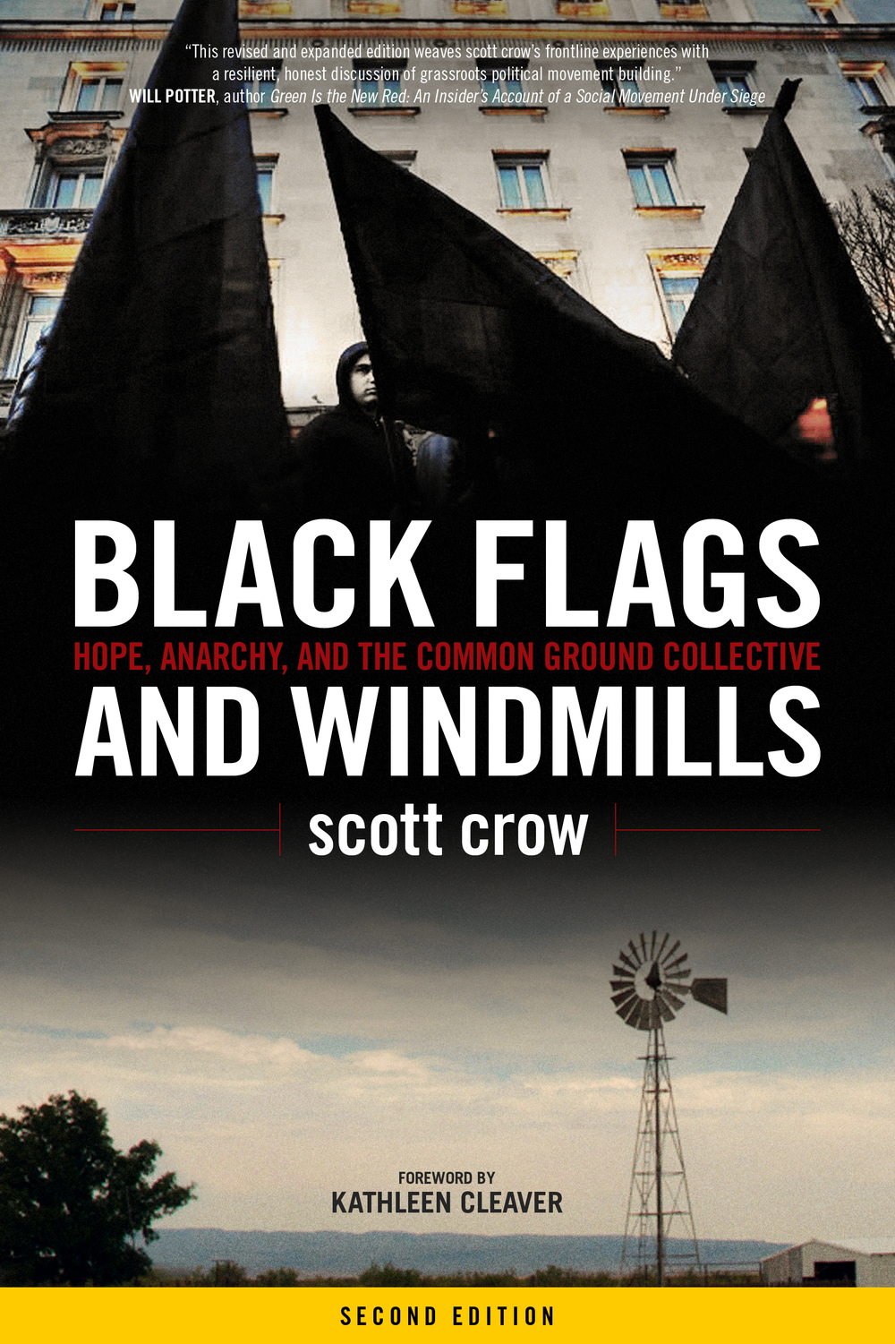 Black flags and Windmills cover