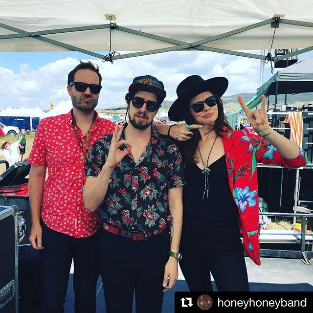 Party shirt trifecta @redantspantsmusicfestival #montana #nataldrums +top notch #photobomb @honeyhoneyband