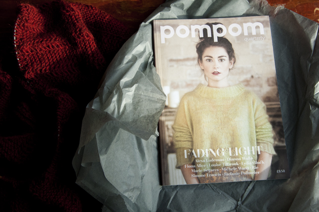 Andi's work was featured in the 2013 Winter issue of Pom Pom Quarterly.