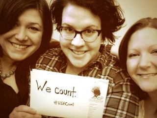 Celebrating the release of the 2014 VIDA count.