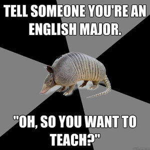 Why do people who choose English as a major in college think they know anything about grammar?