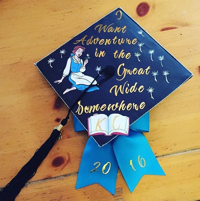 Graduation Cap Decoration Ideas for English Majors — Dear ...
