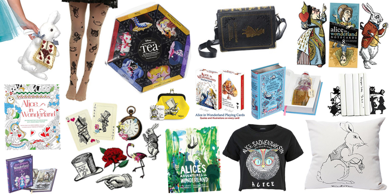 c065f5cfd9e The Ultimate Alice in Wonderland Gift Guide — Dear English Major
