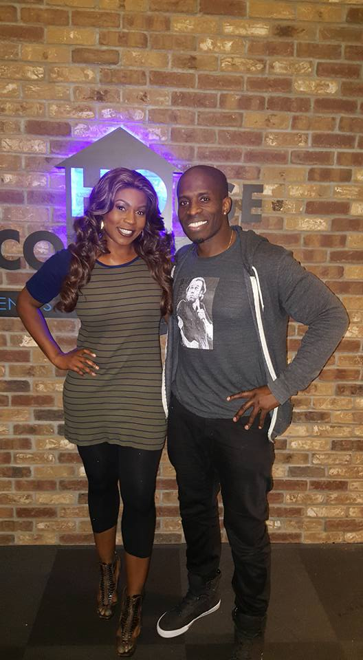 Comedian GODFREY and Diva at House of Comedy