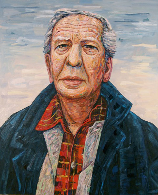 Portrait of Philip Guston,  2012 oil on canvas, 66 x 54 inches