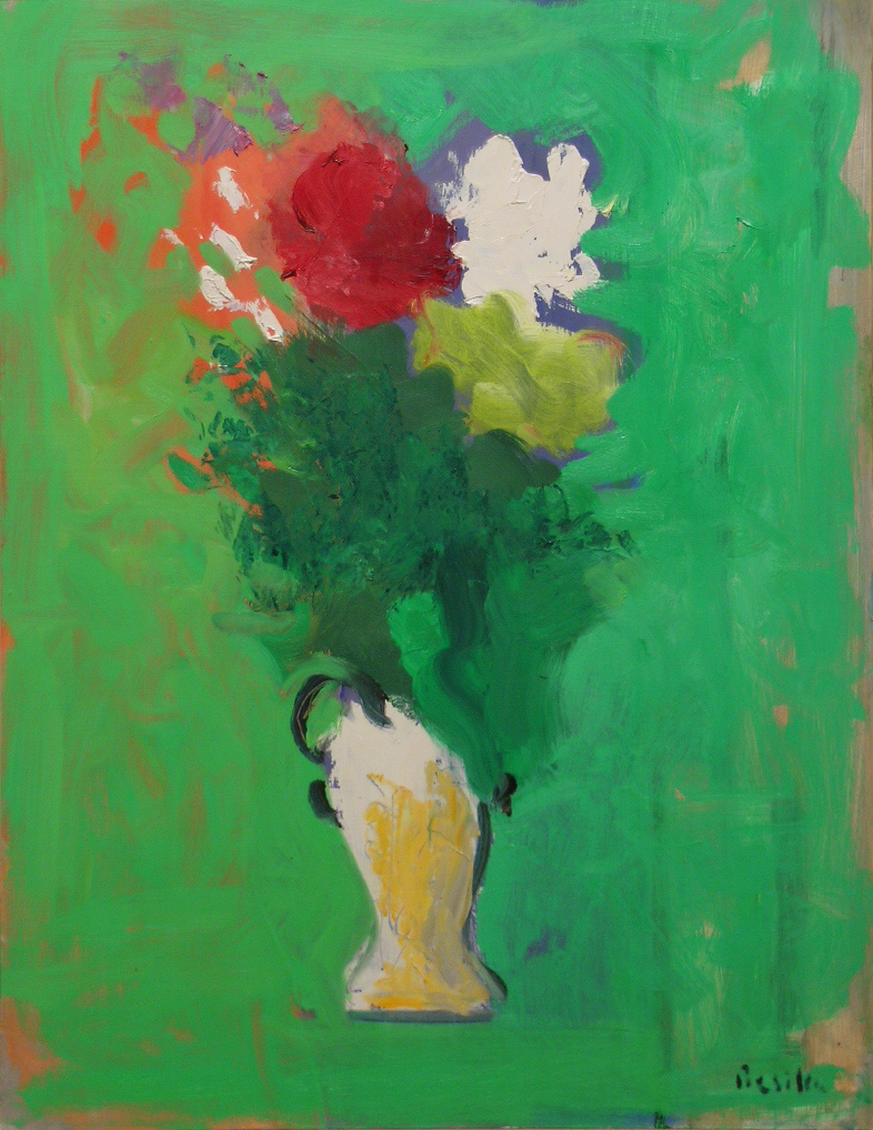 June Flowers , 2010 oil on canvas, 26 x 20 inches