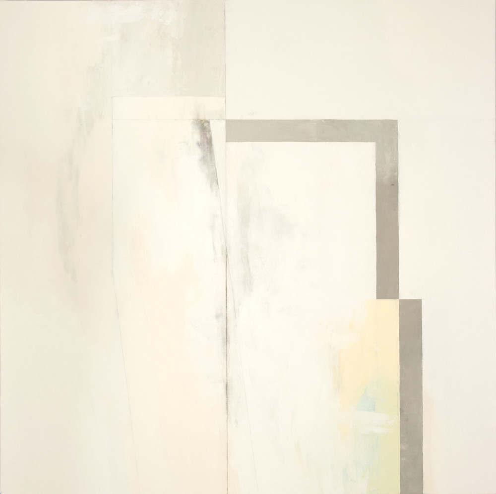White No. 3  ,  2014 oil on canvas, 66 x 66 inches