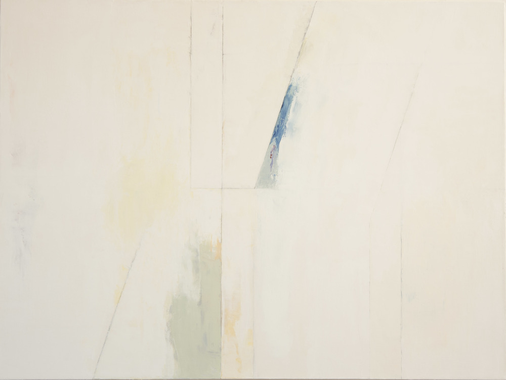White No. 5,  2014 oil on canvas, 36 x 48 inches