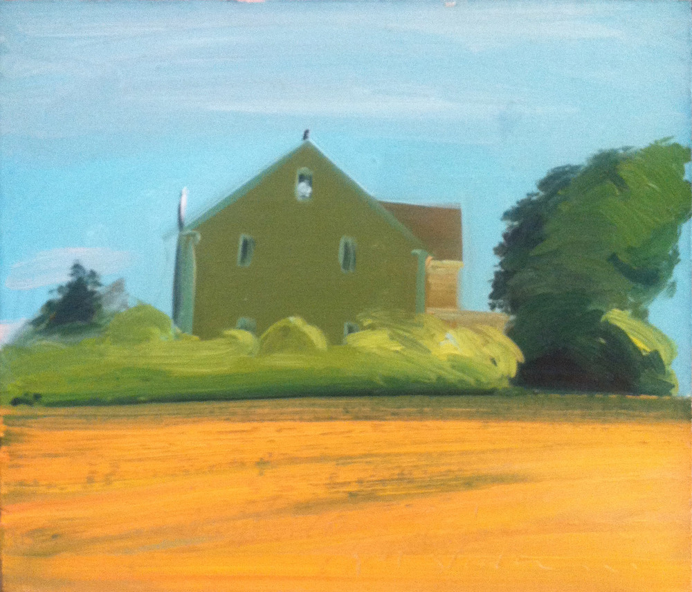 Bellingham House '92,  1992 oil on canvas, 14 x 16 inches