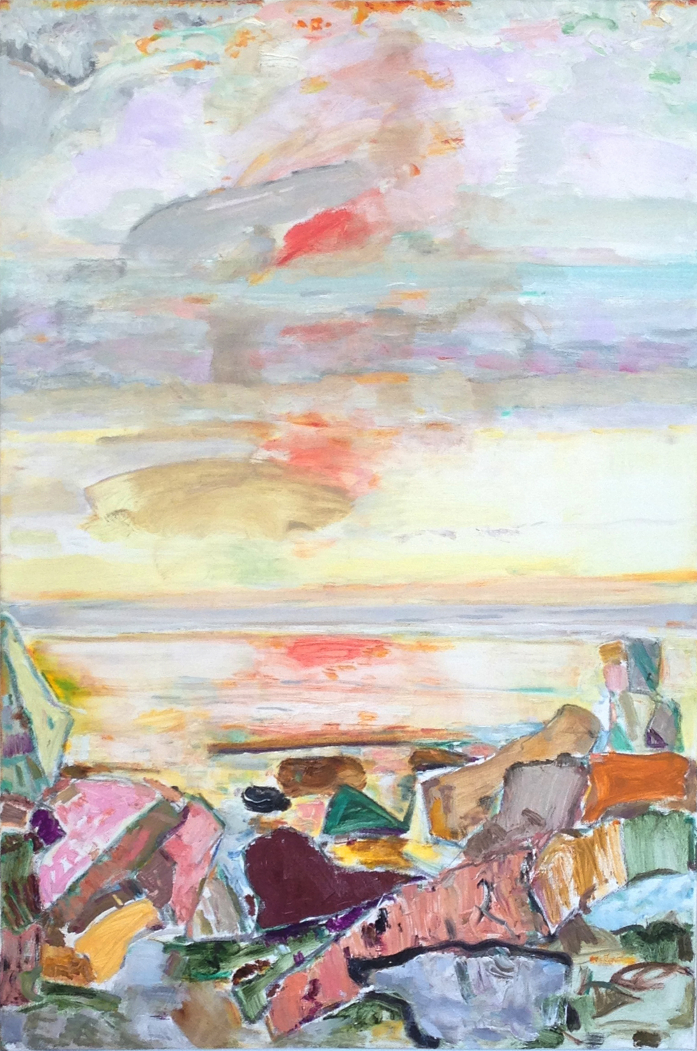 Soft Morning,  2003-05 oil on canvas, 36 x 24 inches