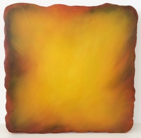 untitled #3313, 2011 oil on plaster gesso ground on canvas 13 x 13 inches