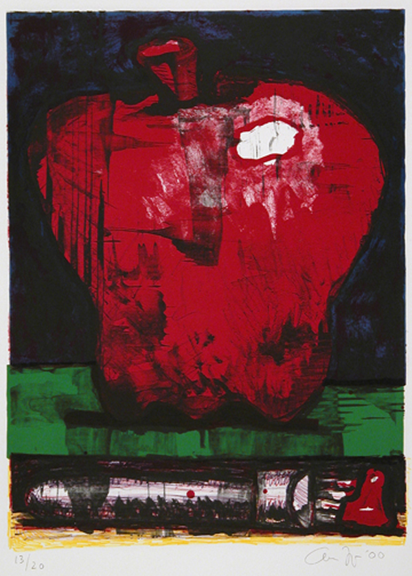 Apple and Paintbrush,  2000