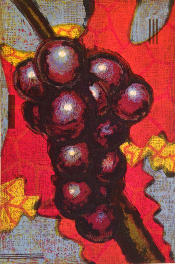 Grapes and Sky,  2001 edition of 57