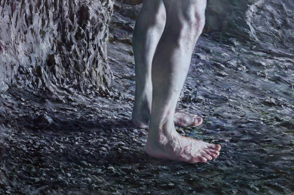 Easter,  2016 oil on panel, 24 x 36 inches