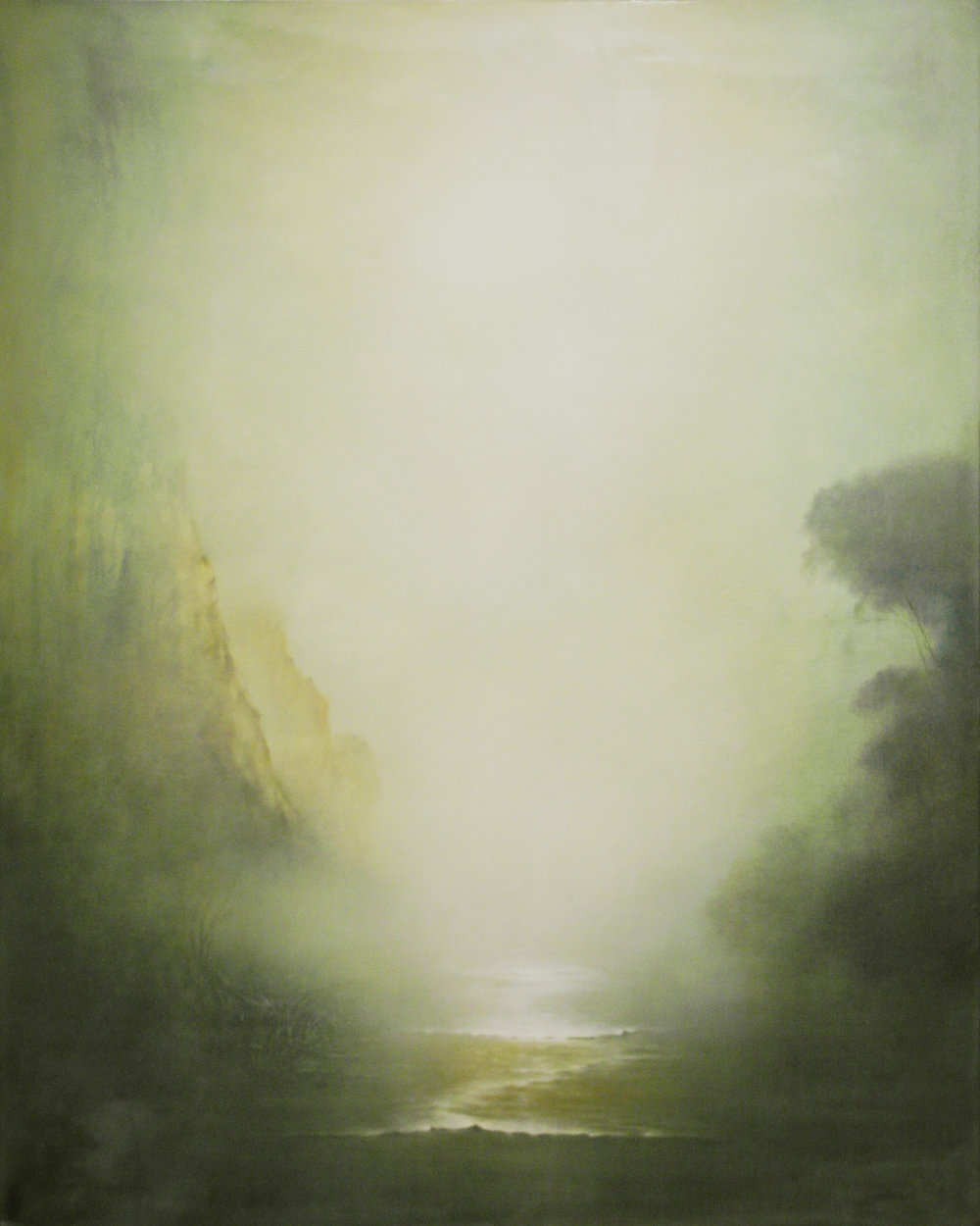 untitled #5108, 2010 oil and wax on linen on panel, 60 x 48 inches