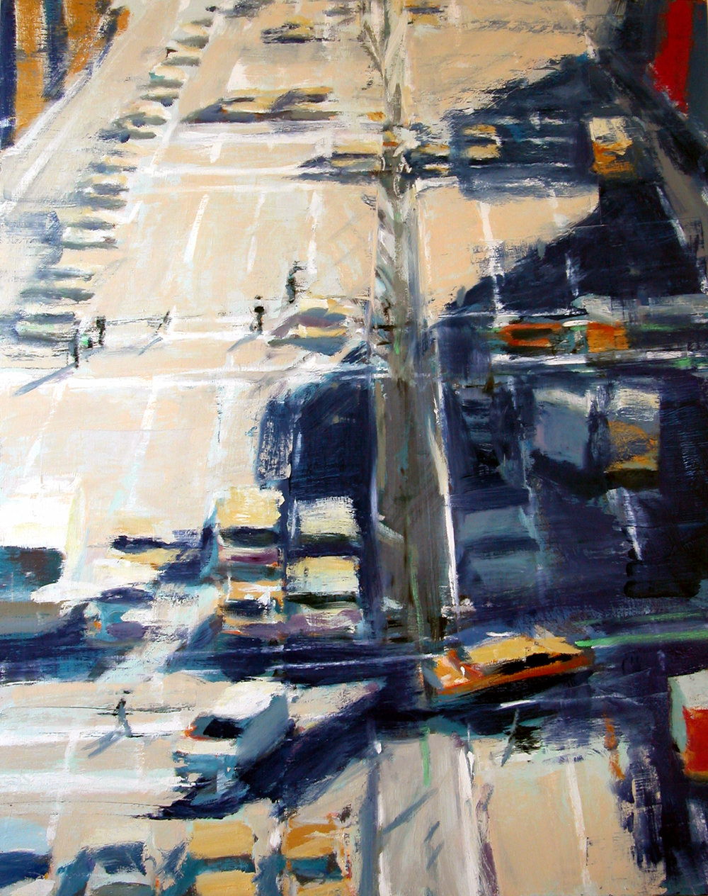 Houston Street , 2008 oil on canvas, 60 x 48 inches