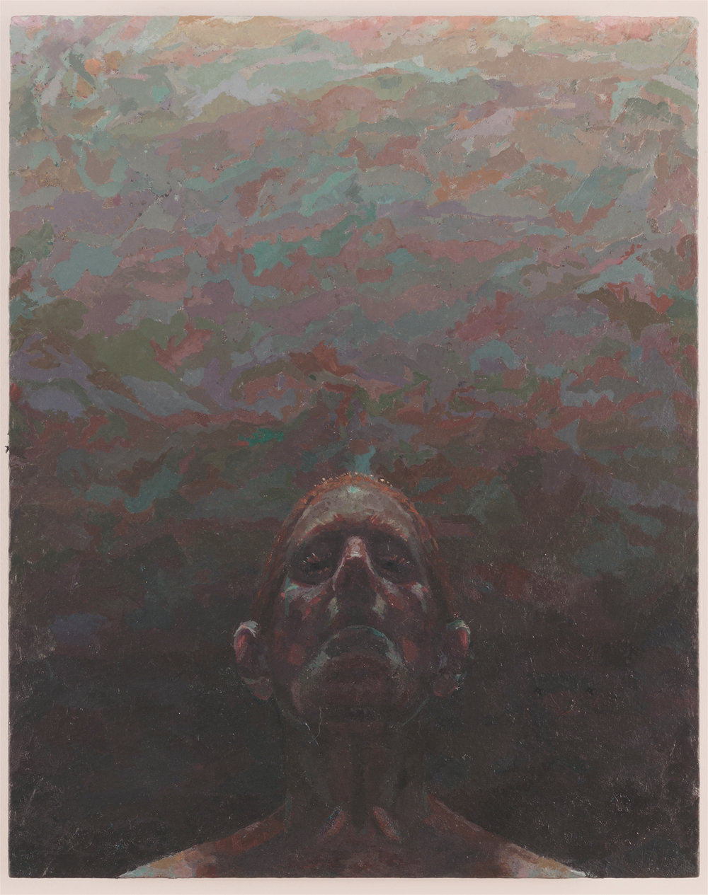 Void of Course,  2012-15 oil on panel, 15 x 12 inches