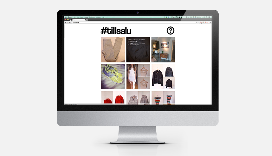 Tillsalu.me - Development, Concept & Design
