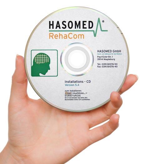 Get your REhaCom Demo Disk