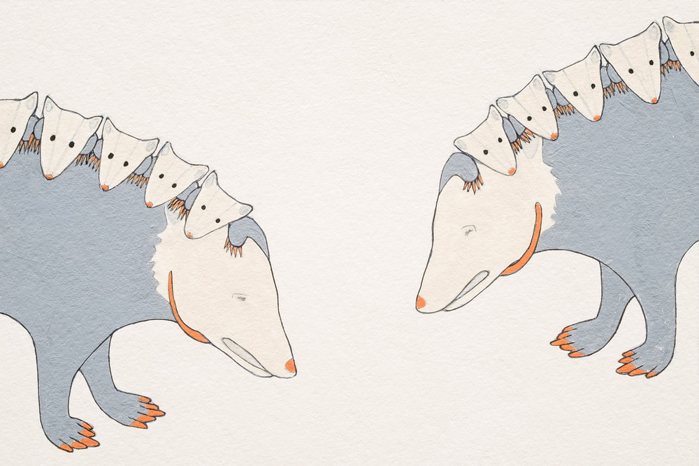 Postcards from Possums  Detail 3