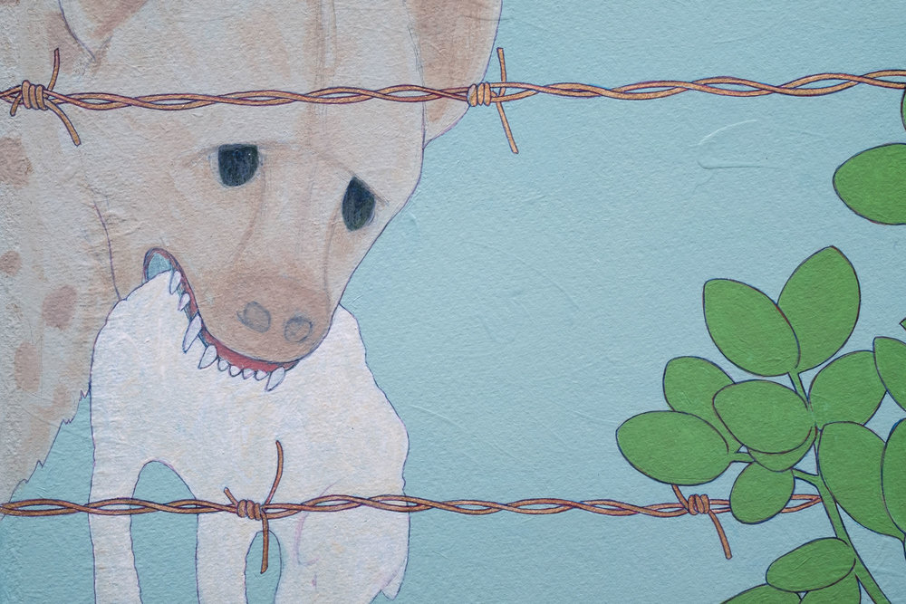 Survival of the Cutest , 2016 Detail 2