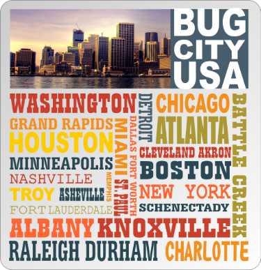 Where do you live? Here are the 20 worst mosquito plagued cities in the U.S. according to Orkin.