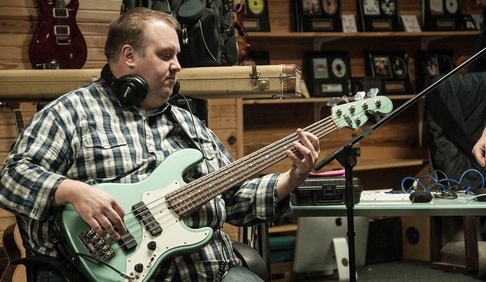 Steve Rehearsing The Next Cut
