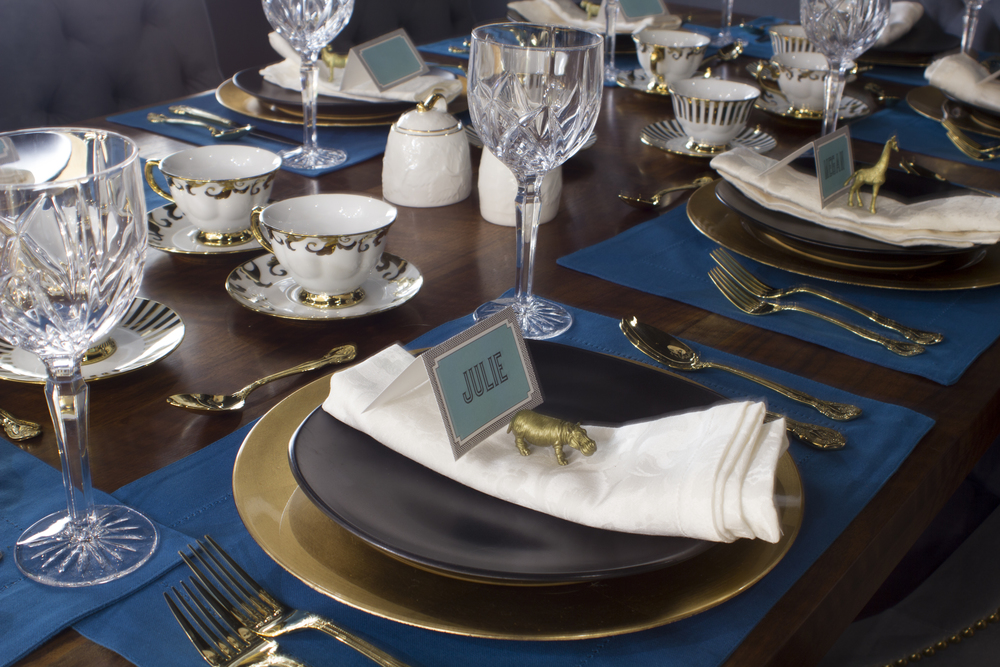 goldtablesetting