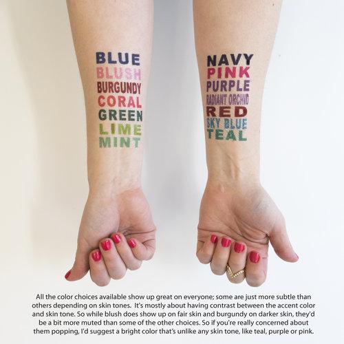 Lost Kid Temporary Tattoos — Kristen McGillivray