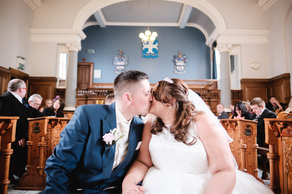 Lisa and Mike - Stockport Town Hall - Stockport | Wedding