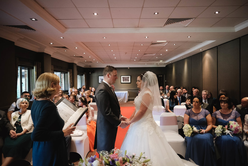 Kathryn and Paul - Village Hotel - Warrington | Wedding