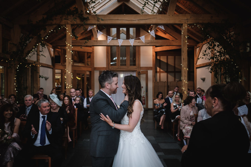 Victoria and Gareth - The Oak Tree Of Peover - Knutsford | Wedding